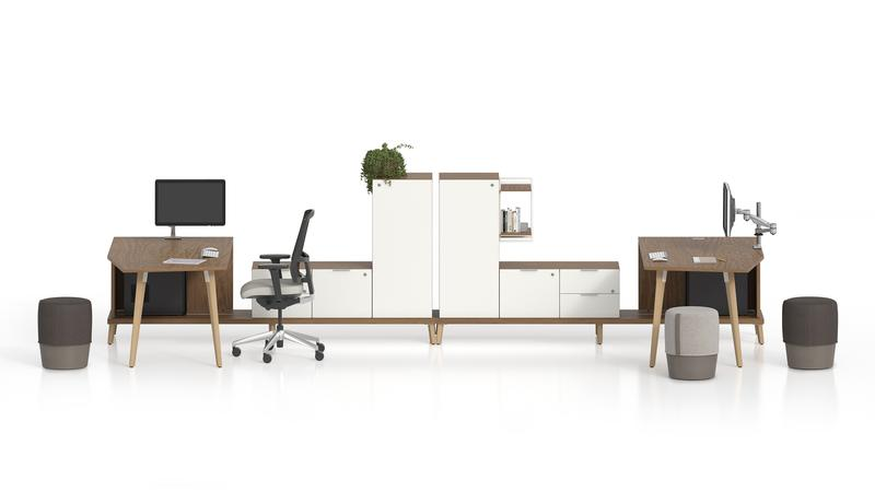 Office Furniture Lacasse Stad Collection